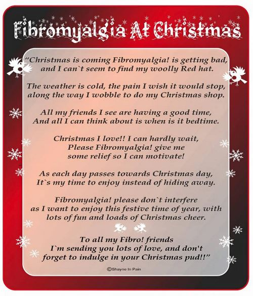 Fibromyalgia at Christmas